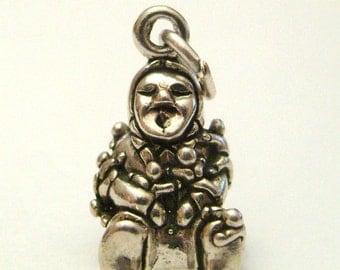 Sterling Silver Storyteller Pendant Charm