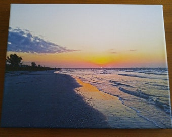 Sanibel Sunrise Canvas Wall Hanging