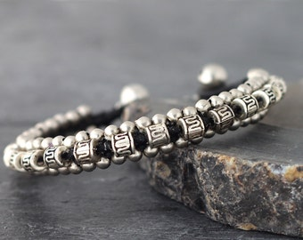 Men Ancient Silver Bracelet