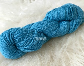 Latvian wool yarn 6/2 (100% wool) Cornflower.
