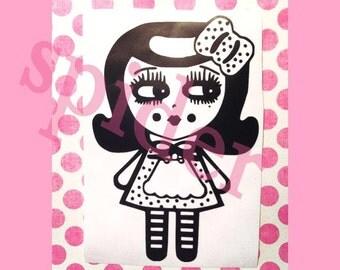Alice in Wonderland inspired  Vinyl Decal Sticker Stickers Spooky Cutie  Sticker Decals Gothie Car Decal