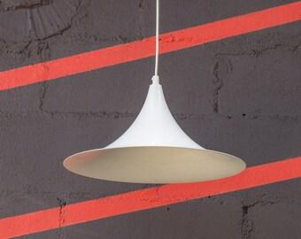 Scandinavian Semi Pendant Light 1960s