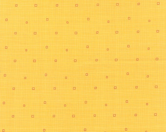 Block Party by Sandy Gervais for Moda ~ 100% Cotton BTY ~ Sunshine 17818-17