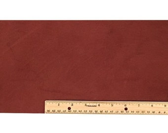 SCRAP LACE LEATHER Med Brown Cowhide 18 inch x 7 inch