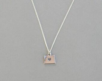 I Heart Colorado Necklace