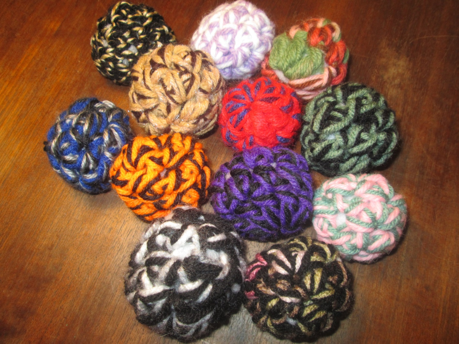 Cat Toys Balls : Set of cat toy balls by suzannesstitches small dog toys