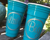 Biglittle Gifts Party Cup Personalized Party Favor Personalized Gift Solo Cup Reusable Cup Custom Cup Customized Solo Cup Sorority Gift Cup