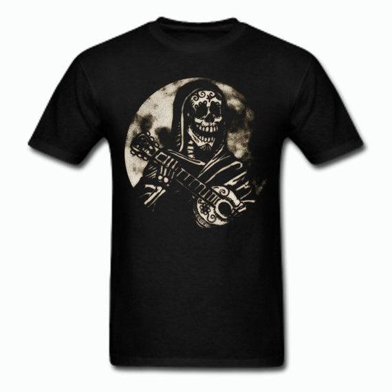 Day of the Dead Guitarist Tee shirt