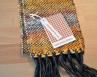 Orange Colors, Garment Gift Tags for Weaving, Printable