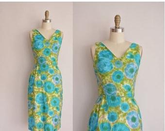 25% off SHOP SALE... 1950s dress/vintage 50s dress/ 50s cotton dress by Fritzi