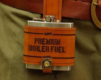 "Flask - ""Premium Boiler Fuel"