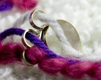 The original 3 loop knitting ring, Knit3, crochet ring, knitting, yarn guide ring, 3 loop yarn ring, ring, custom ring,  yarn guide ring