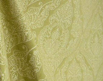 REMNANT Queens Lace Endive Upholstery Fabric 55 inches x 1.75 yards
