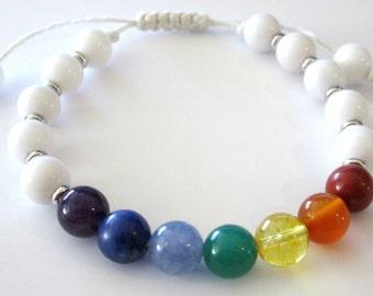 Chakra Bracelet - Yoga - Adjustable - Balancing - Spiritual | DISCOUNTED!