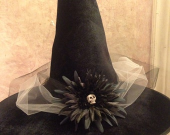 2016 New Design - Witch Hat - Black Witch Hat - Halloween Witch