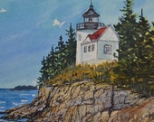 Bass Harbor Lighthouse, A...