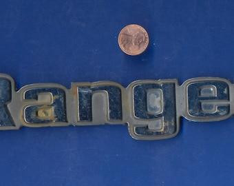 Original Vintage Ford Ranger Emblem