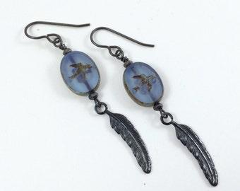 Bluebird of Happiness Earrings