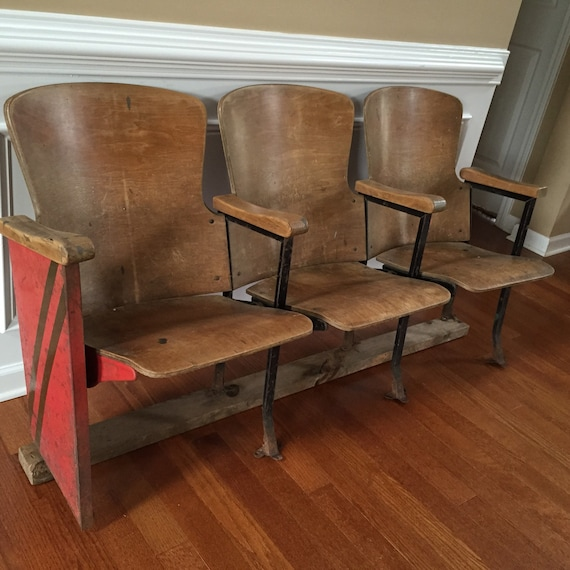 Home Theater Foyer : Theater chairs seats entryway furniture wood iron