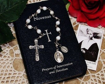 Unbreakable Catholic Chaplet of St. Catherine Laboure of the Miraculous Medal - Patron Saint of Pilots and Flight Attendants