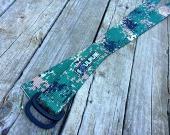Jarhead Camouflage Fat Nylon Belt