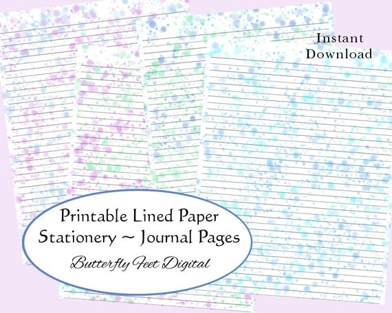 It's just a picture of Intrepid Free Printable Journal Pages Lined