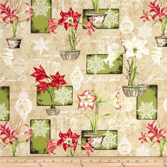 Destash Sale Christmas In Bloom By Nancy Mink Fat
