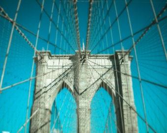 Brooklyn Bridge Print, New York Photography, Fine Art Photo, Wall Art, Sunrise, Architecture, Travel Photography, Large Wall Decor, NYC