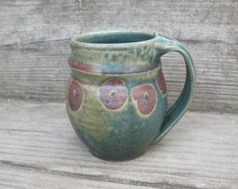 Coffee or Tea Mug, 12 ounces, hand thrown stoneware by Jennie Blair