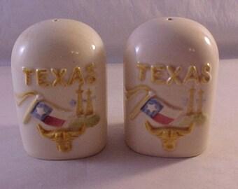Texas Souvenir Salt & Pepper Set