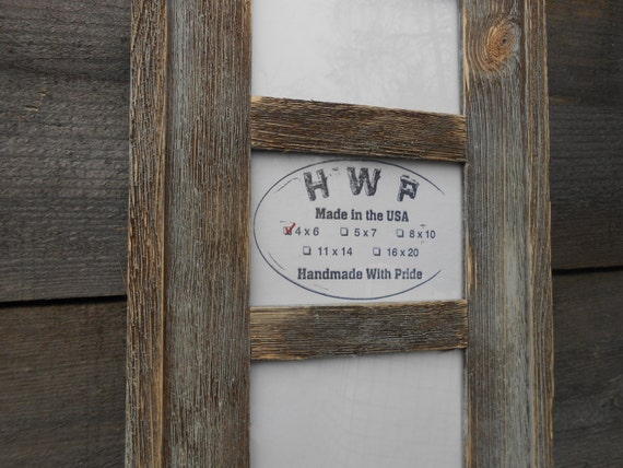 Barn Wood Rustic Handcrafted Handmade Barnboard Picture