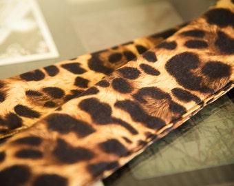 DSLR Camera Strap Cover in Leopard Print