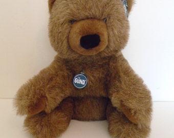 SALE vintage Golly Golly Bear by Gund