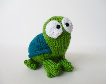 Spencer the Tortoise toy knitting pattern