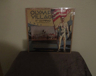 Reduced price - The 10th Olympiad in Los Angeles from 1932 vinyl  - A Rare Historical Recording - Lp is Sealed in original shrink wrap