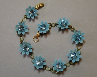 Blue Lilly Bracelet