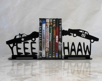 Dukes of Hazzard Metal Bookends