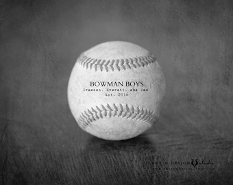 Dad Christmas Gift, Gift Ideas for Dad, Christmas Gifts for Dad, Christmas Gifts for Men, Dad Gift from Kids, Baseball Print Photo or Canvas