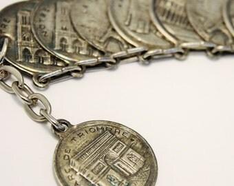 Vintage Paris bracelet.  Souvenir bracelet. French bracelet
