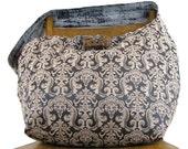 OVER the SHOULDER BAG - Boho Bag - Oversized Bag - Crossbody Bag - Large Bag - Hippie Bag - Cross Shoulder Bag - Hobo Bag - Floral Bag