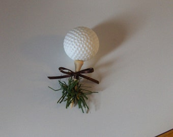 Golf Wedding Boutonniere