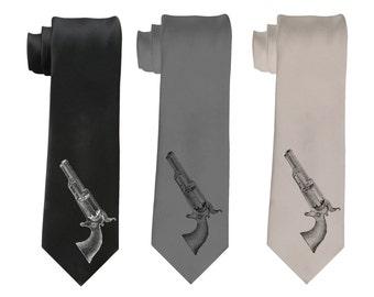 Peacemaker Pistol  Necktie