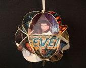 Saturday Night Fever Album Cover Ornament - Bee Gees, John Travolta, Disco