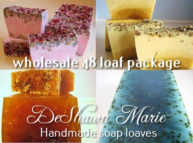 DeShawn Marie wholesale soap loaves