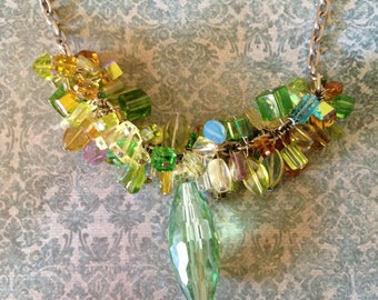Spring Green Mix necklace