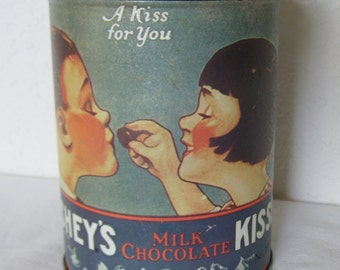 Hershey's A Kiss For You Tin