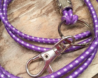ID lanyard Work Badge Stretchy Useful necklace Simple Comfortable functional