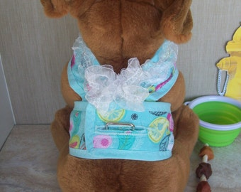 Feathers and Lace Dog Harness