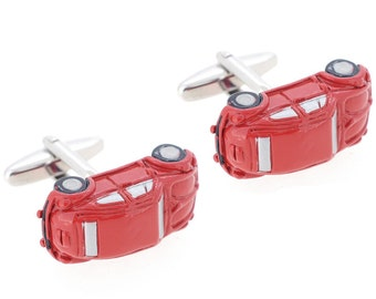 Red Iconic Bug Car Cufflinks  CODE: 1200471