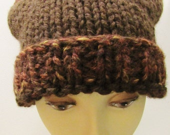 Chocolate Carmel Squared Hat